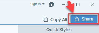 save image in snagit