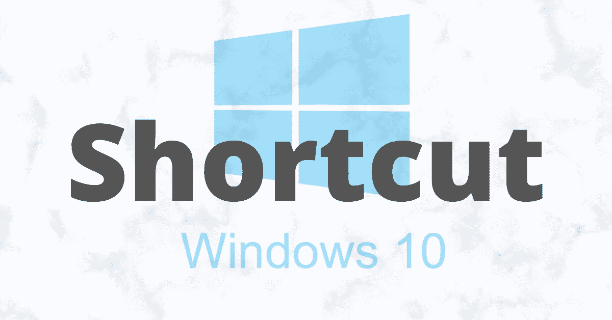 Create Shortcut on Windows 10