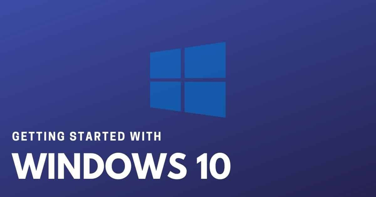 How to use windows 10