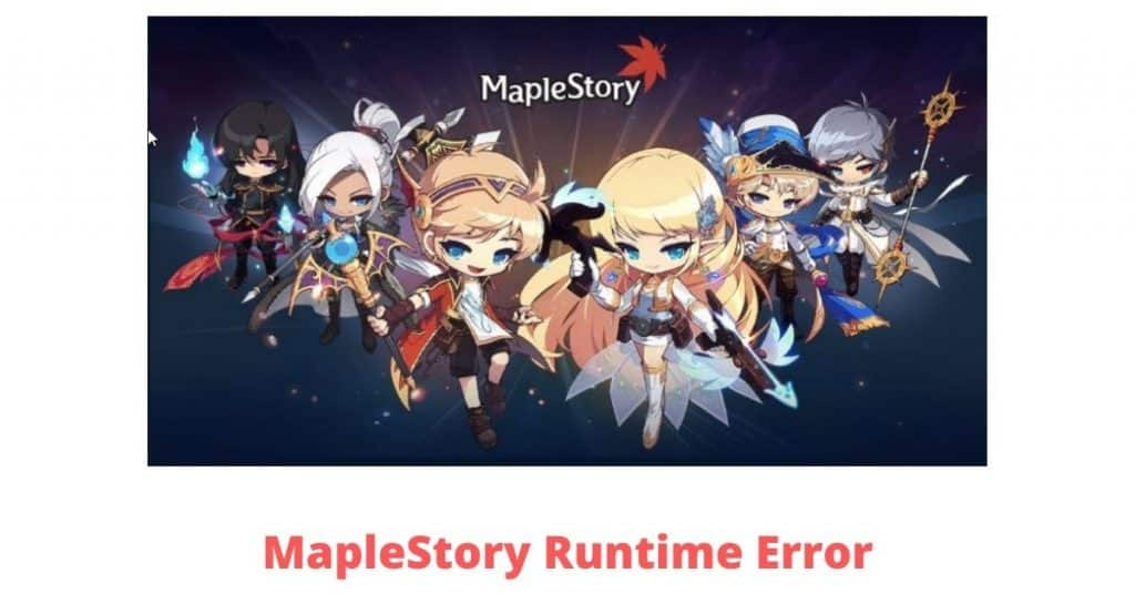 maplestory runtime error